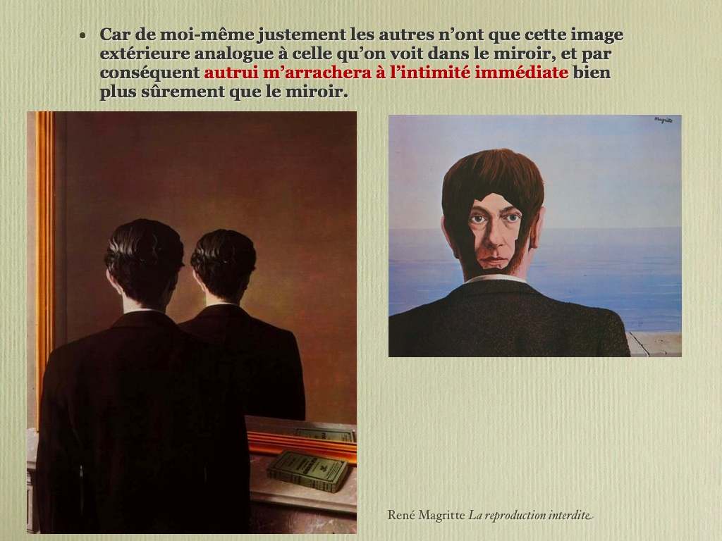 Neuroland art for Magritte le faux miroir