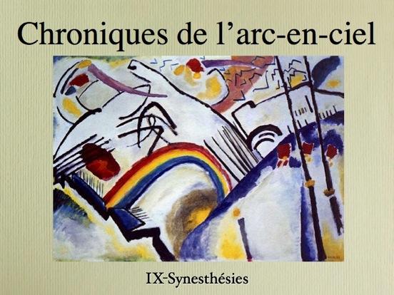 synesthésie et rencontre des arts